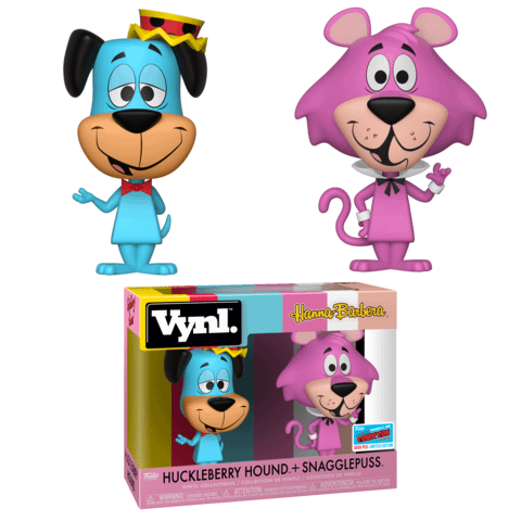 Funko NYCC Vynl Huckleberry Hound and Snagglepuss