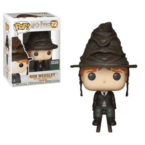 Funko Harry Potter Ron Sorting Hat