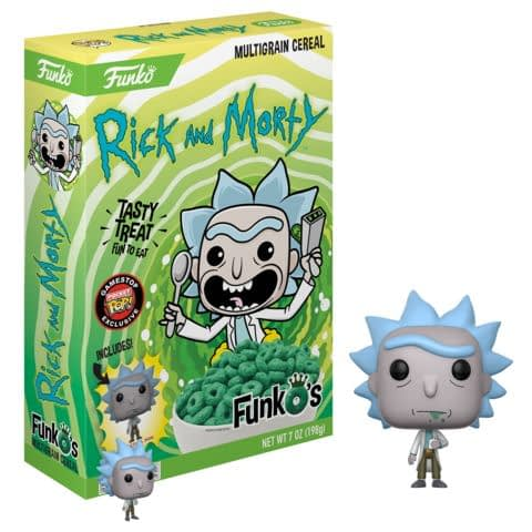 Funko Cereal Rick and Morty Rick