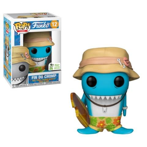 Funko ECCC Fin DuChomp Pop