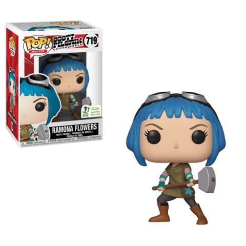 Funko ECCC Scott Pilgrim Ramona Flowers Pop