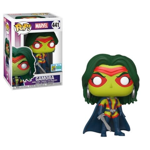 FUNKO POP : news  Funko-sdcc-marvel-gamora