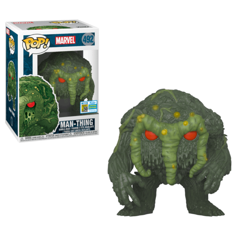FUNKO POP : news  Funko-sdcc-marvel-man-thing