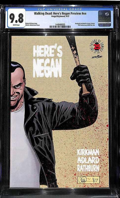 Comic Connect Walking Dead Here's Negan Preview