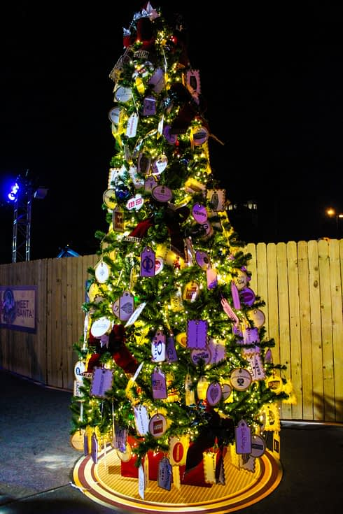 Take A Trip Down Christmas Tree Trail At Disney Springs