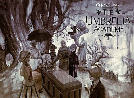 umbrella academy john magaro cast