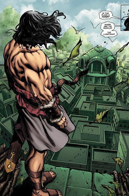Conan the Slayer #9 interior art