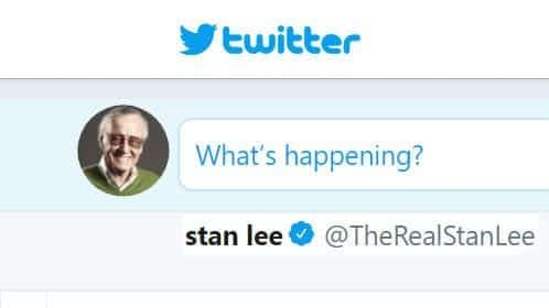 Who runs Stan Lee's twitter account?
