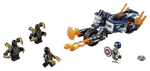 LEGO Avengers Endgame Captain America Outriders Attack 2