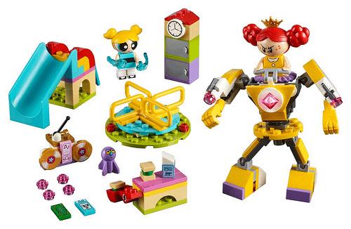 LEGO Powerpuff Girls Bubbles Playgorund Showdown