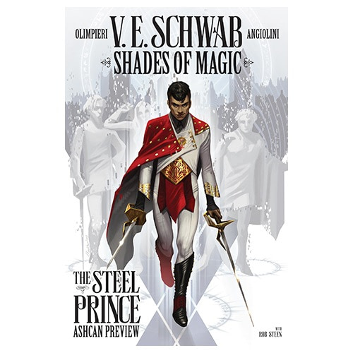 Titan SDCC Exclusive Shades of Magic: The Steel Prince Ashcan