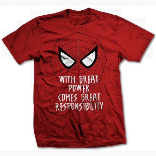 spiderman-with-great-power-great-responsibility-t-shirt-500x500