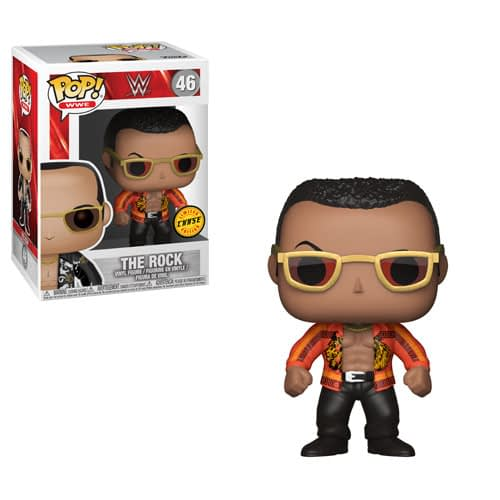 The Rock Funko Pop Chase WWE