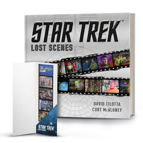 Titan SDCC Exclusive Star Trek: Lost Scenes with Comic Con Exclusive Replica Film Cell