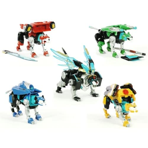 ThinkGeek SDCC Exclusive Voltron Figure Set