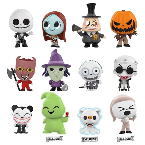 Funko Nightmare Before Christmas Mystery Minis 2