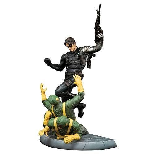 WInter Soldier Comic Statue