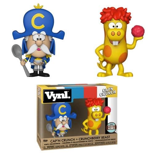 Funko Ad Icons Vynl Cap'n Crunch and Crunchberry Beast