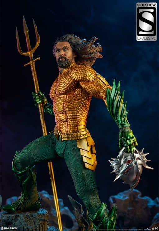 Sideshow Collectibles Premium Format Figure Aquaman 11