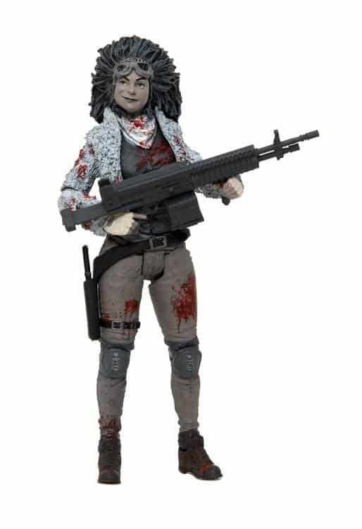 Walking Dead McFarlane Toys NYCC Exclusive Juanita Sanchez Black and White 1
