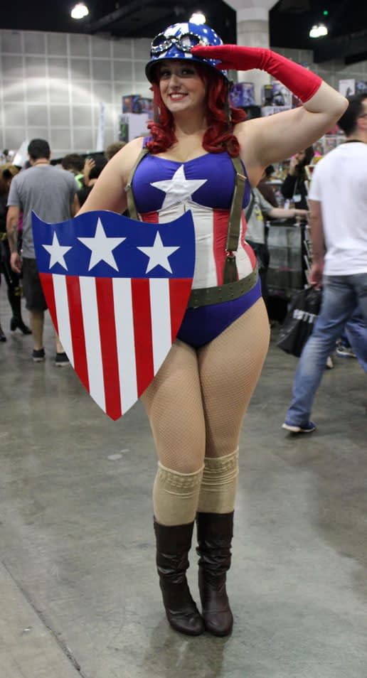 Capt America Girl