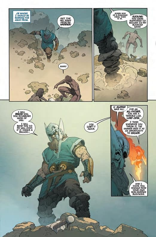 Interior art from Marvel Legacy #1 by Esad Ribic
