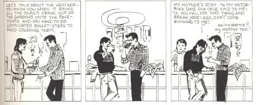 Peter Cannon, Eddie Campbell and Paul Gravett - The Men At The Crossroads