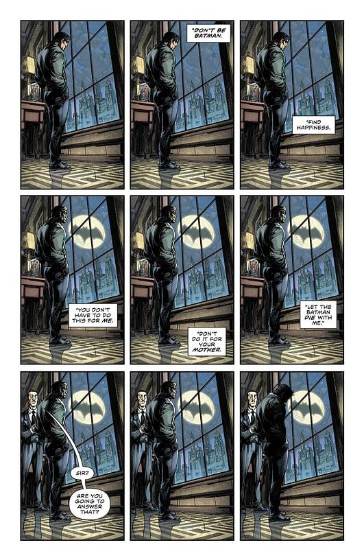 Flash 22 Rebirth Bruce Wayne Batsignal