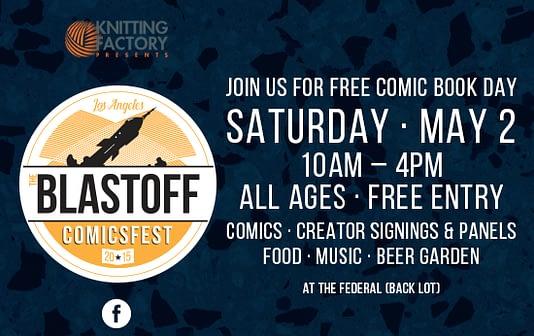 Blastoff ComicsFest Promo