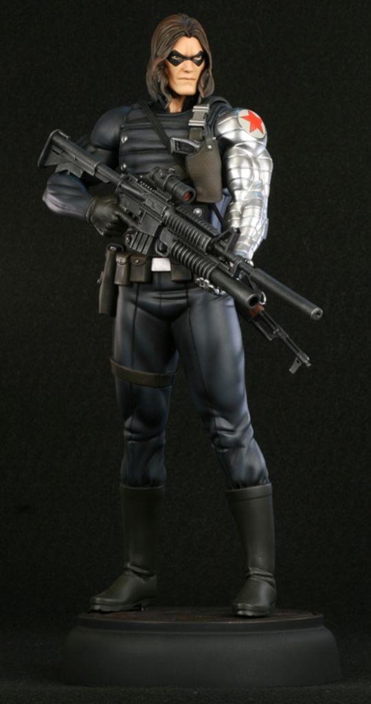 Winter Soldier Bowen Statue