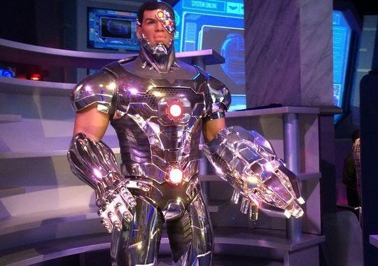 Justice League Battle for Metropolis - Cyborg