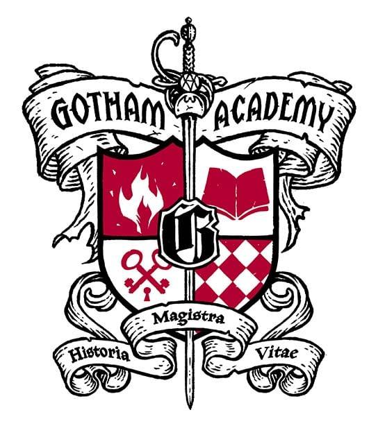 GOTHAM ACADEMY CREST