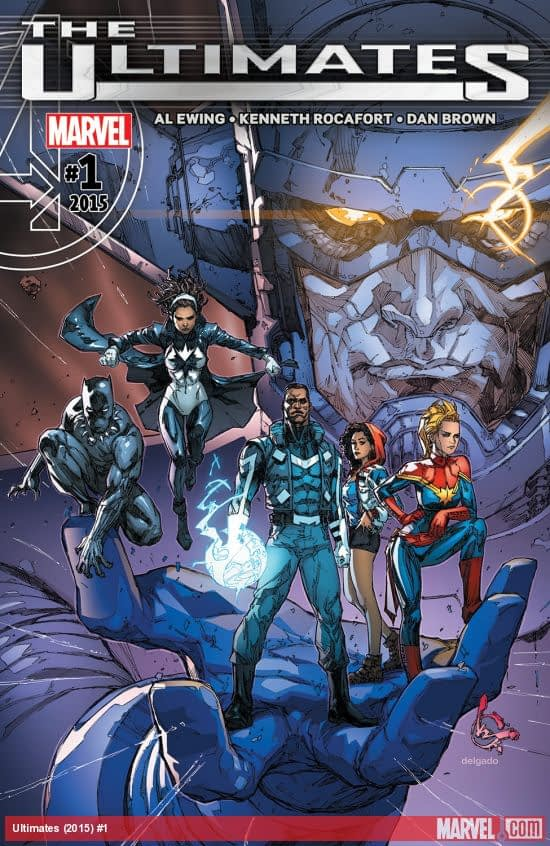 Ultimates #1 cover by Kenneth Rocafort
