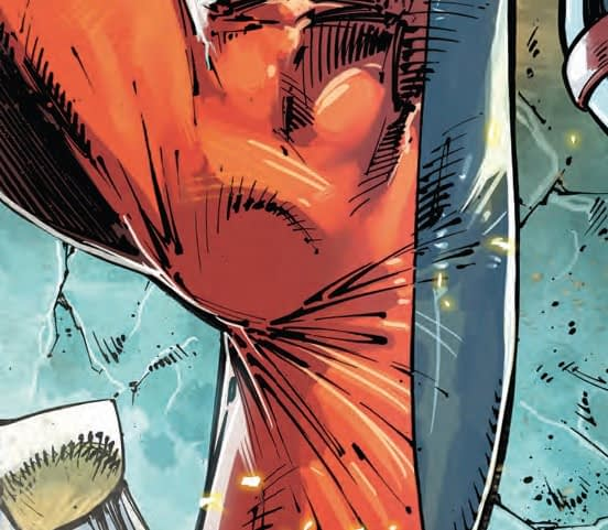 Major X or Major Manspreader? Next Week's Major X #1 from Rob Liefeld