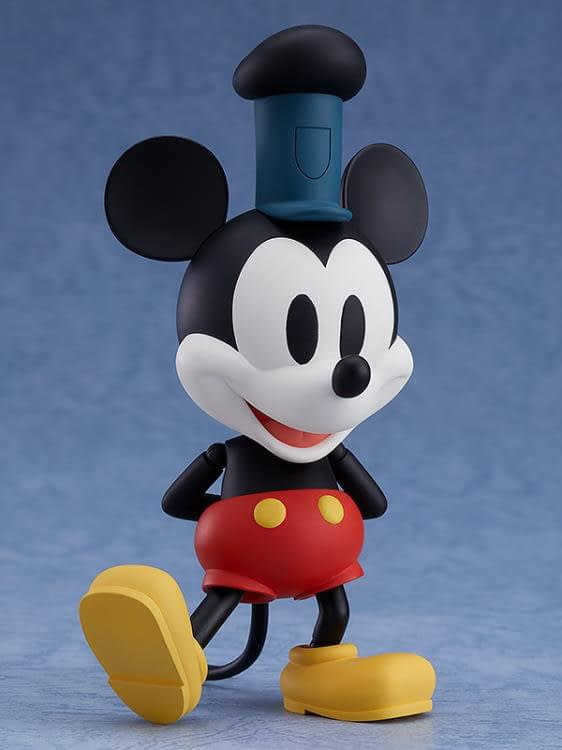 Mickey Mouse Steamboat Willie Nendoroid Figure 5