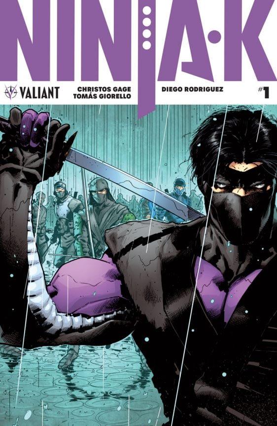 The Return of Ninjak From #Valiant2020