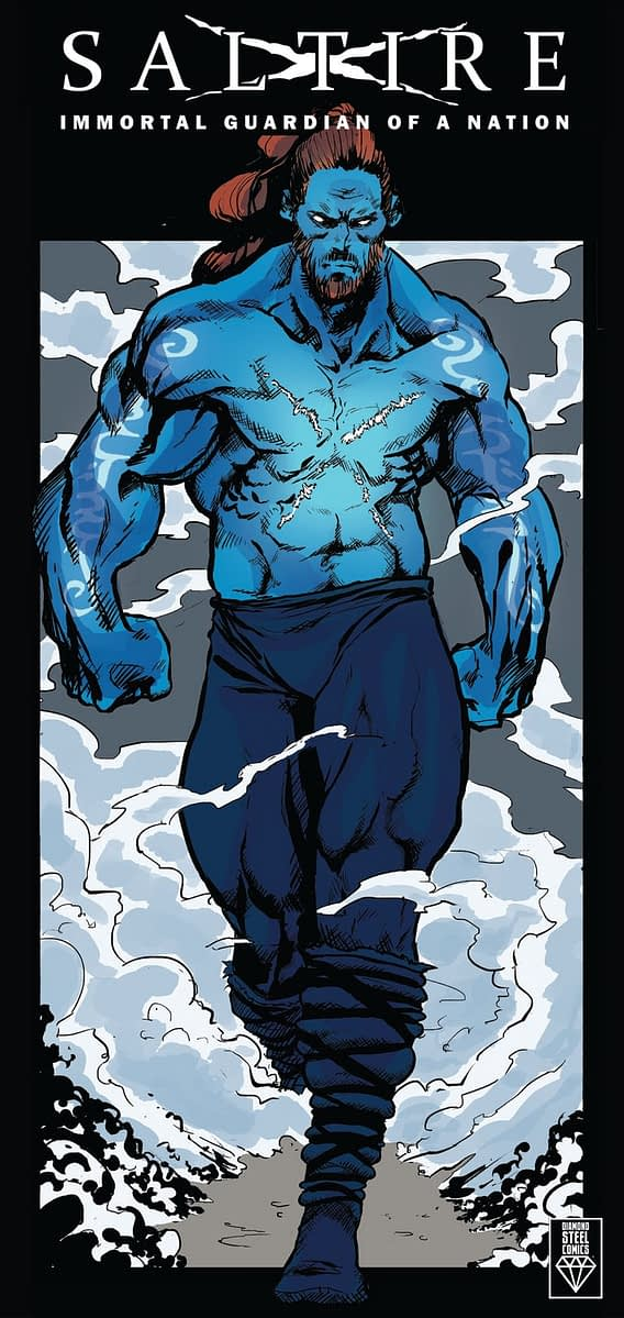 Saltire Annihilation Preview colour