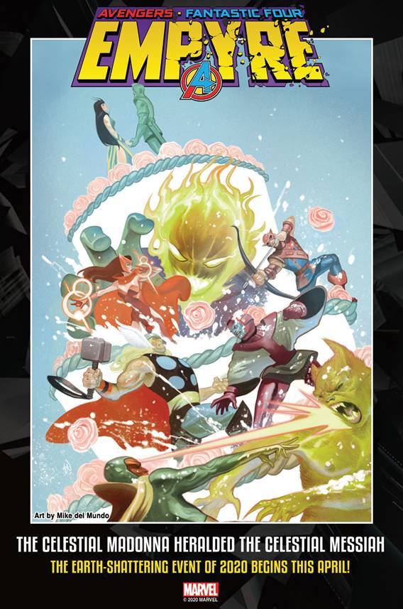 Alex Paknadel Writes Some White Noise For Marvel With Lords of Empyre: Celestial Messiah