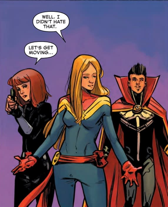 Learning to Love the Body Swap in Captain Marvel #7 (Preview)