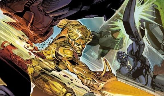 Interior art from Legends of Tomorrow: Metal Men by Yildiray Cinar