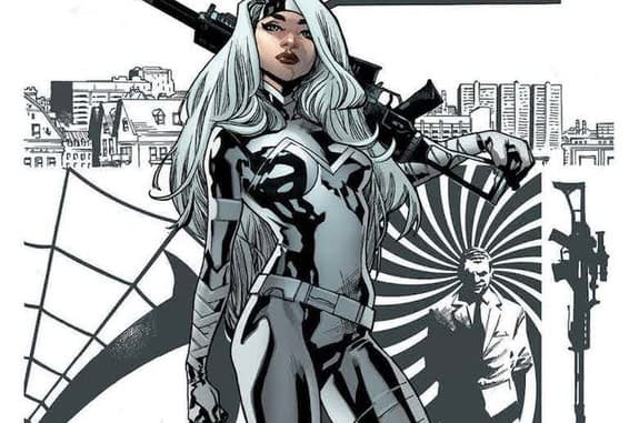Silver Sable and the Wild Pack #36 cover by Mahmud Asrar and Marte Gracia
