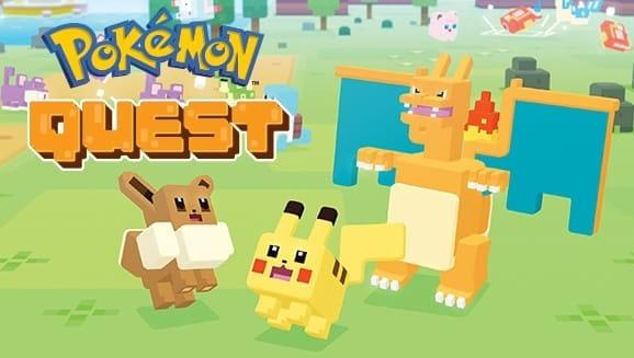 Pokémon Quest art