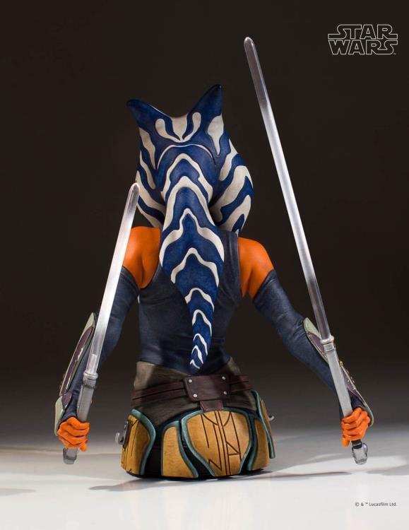 Star Wars Ahsoka Tano Bust 4