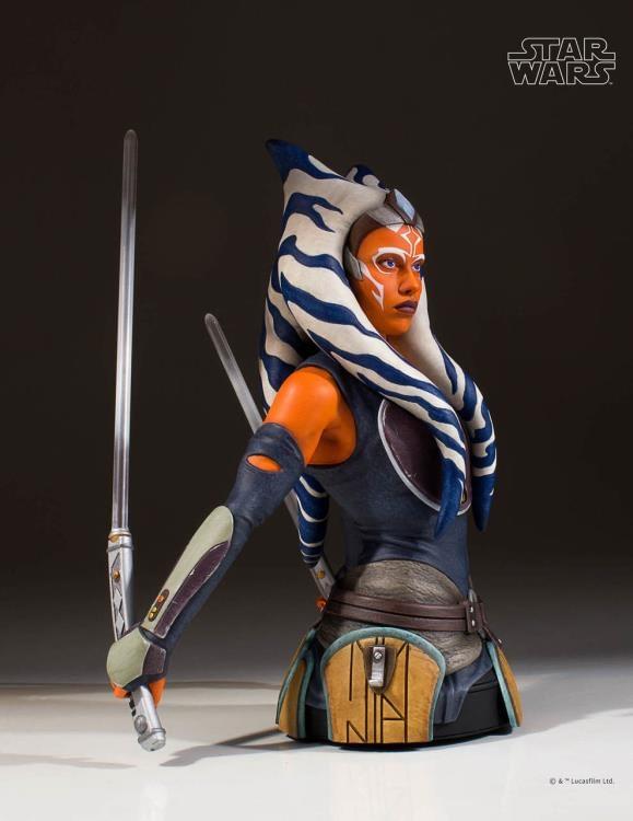 Star Wars Ahsoka Tano Bust 5