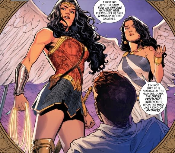 Gods and Personal Responsibility in Wonder Woman #71 (Preview)