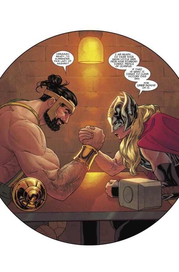 Thor #702 art by Russell Dauterman and Matthew Wilson