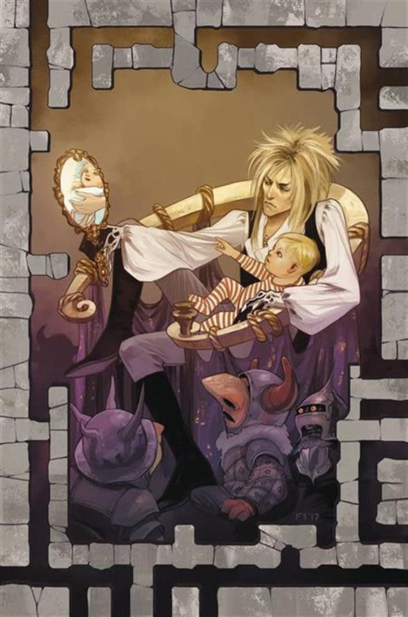 Jim Henson's Labyrinth: Coronation #1 cover by Fiona Staples