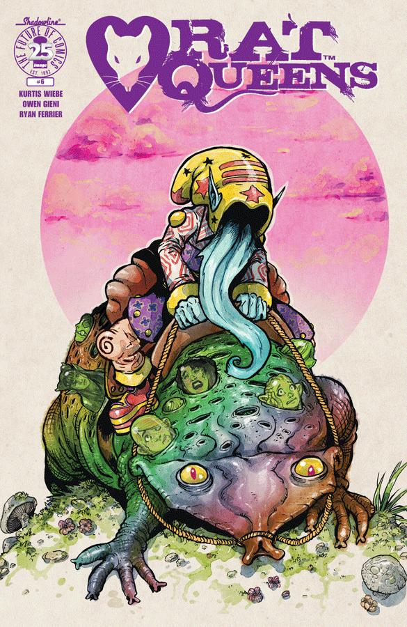 Rat Queens Vol. 2 #6 cover by Owen Gieni