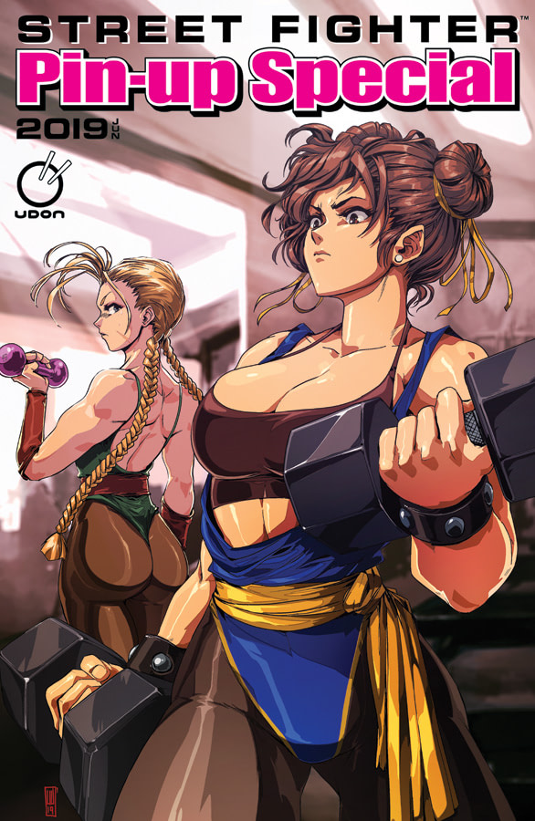 Udon Entertainment Launches Street-Fighter Pin-Up Special