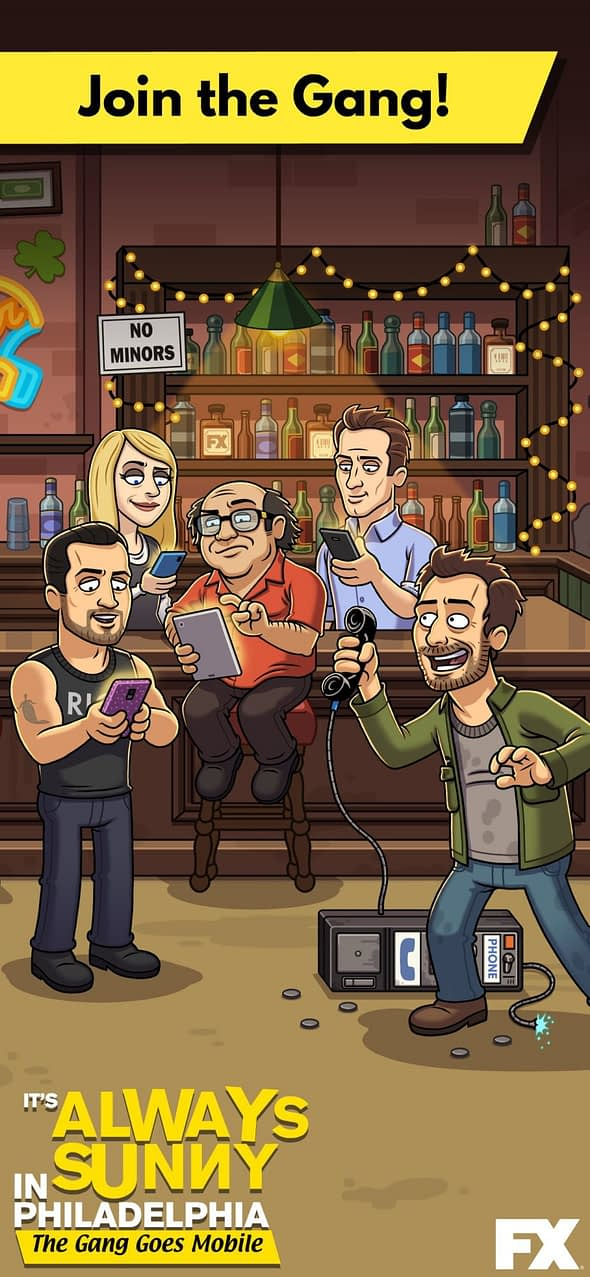 It's Always Sunny: The Gang Goes Mobile is Available Now